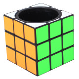 ZCUBE 3x3 Pen Holder Magic Cube - Colorful