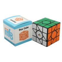 MF8 Sun Cube Legend 3x3x3 Magic Cube (Bandaged) - Black-base