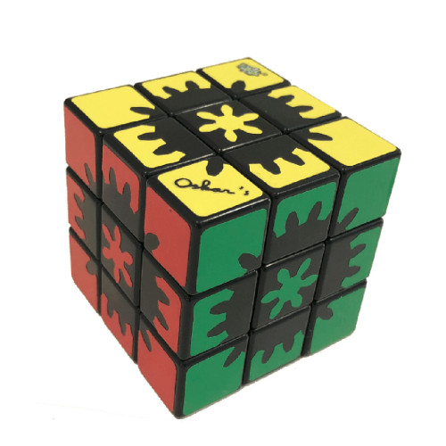 LanLan Hidden Gear 3x3 Magic Cube - Colorful