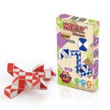 MoYu Magic Ruler 60 Segments Puzzle Cube - Red + White