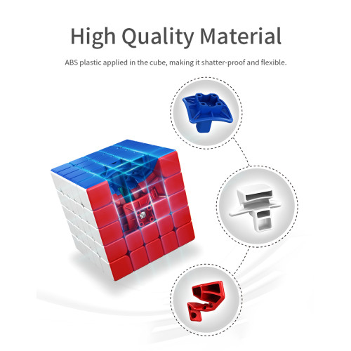 MFJS Meilong 5x5 M Magic Cube - Stickerless