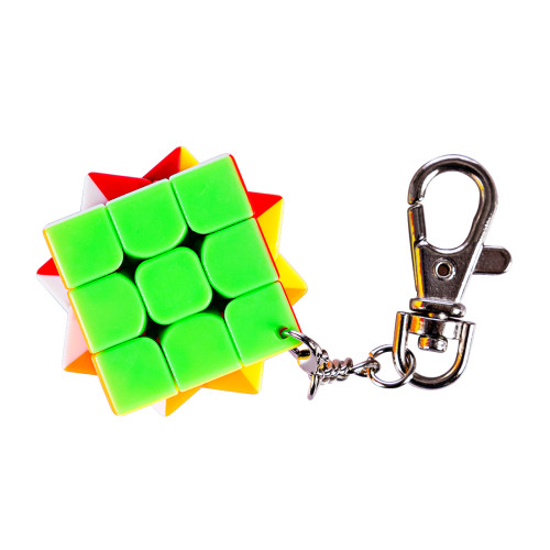 Cubing Classroom Key Chain 3CM 3x3 Magic Cube - Colorful