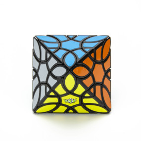 Clover Octahedral Magic Cube - Black
