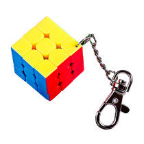 Cubing Classroom Key Chain 3CM 3x3 Magic Cube - Colorful