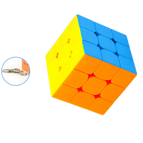Cubing Classroom Key Chain 35mm 3x3 Magic Cube - Colorful