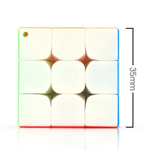 Cubing Classroom Key Chain 35mm 3x3 Magic Cube - Colorful
