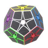 Magic Cube 2x2 Five Corners Carbon Fiber Sticker Speed Cube- Colorful