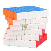 QiYi Mofangge S 6x6 M Magic Cube - Stickerless/Black