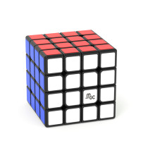 YJ MGC 4x4 Magic Cube - Black/Stickerless
