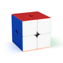 MFJS Meilong 2x2 M Magic Cube - Stickerless
