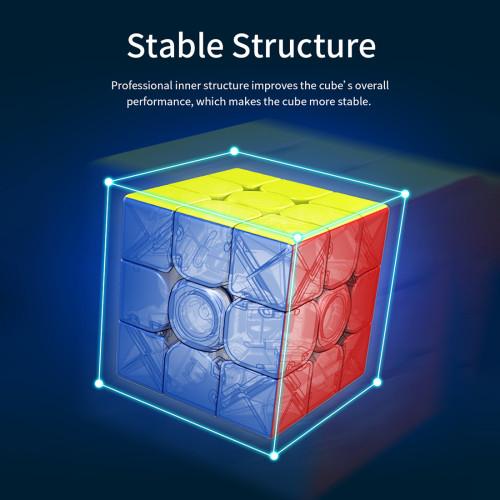 MFJS Meilong 2x2 M Magic Cube - Stickerless