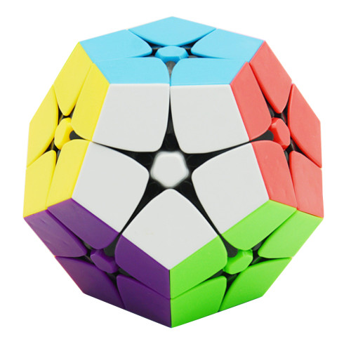 Fangge 2x2 Five Corners Magic Cube Speed Cube Twisty Puzzle- Colorful