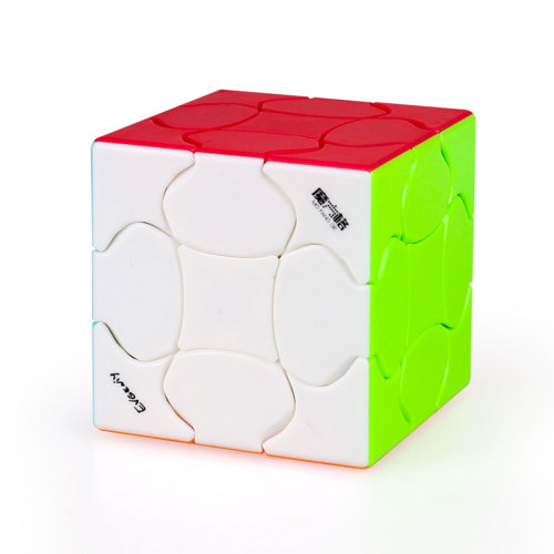 Qiyi Petal 3x3 Magic Cube - Stickerless/Black