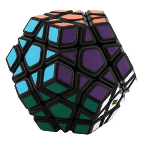 Cubing Classroom Five Corners Magic Cube Speed Cube Twisty Puzzle - Black-based