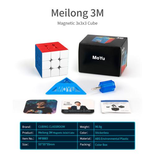MFJS Meilong Custom 3x3 M Magic Cube