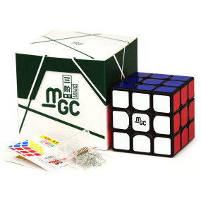 YJ MGC 3x3 M Magic Cube -Black