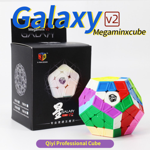 Galaxy Megaminxcube V2 M - Stickerless