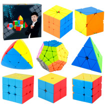 MoYu MFJS MeiLong 8 in 1 Magic Cube Set - Stickerless