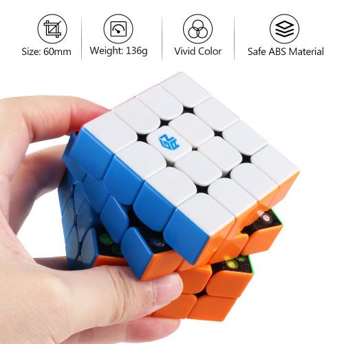 GAN460M 4x4 M Magic Cube - Stickerless
