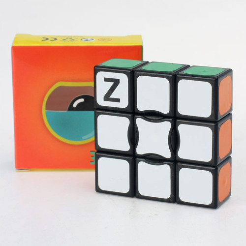 Z-cube 1X3X3 Floppy Magic Cube - Black/White