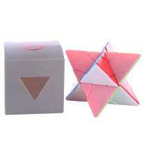 Fangshi Lim 2x2 Changeable Pyramid Twin Towers Magic Cube