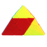 Fangshi Lim 2x2 Changeable Pyramid Six-color Prism Magic Cube