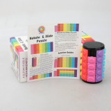 X-Cube Colorful Five-layer Magic Tower - Black Base