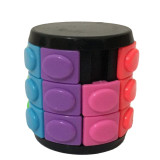 X-Cube Colorful Three-layer Magic Tower  - White