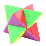 Fangshi Lim 2x2 Changeable Pyramid Twin Towers Magic Cube