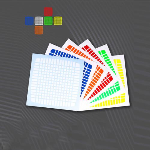 1Set Sticker for MoYu 15x15 Magic Cube
