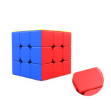 Upgrade+Premium Lubricants MoYu Weilong WR M 3x3 Magic Cube - Black/Stickerless