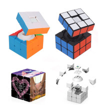 Yuxin Zhisheng 3x3 Magic Cube - Stickerless/Black