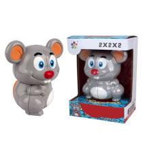 Yuxin Mouse 2x2 Magic Cube - Grey