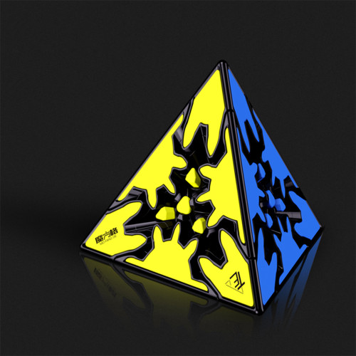 QiYi Mofangge Gear Pyraminxcube Magic Cube - Stickerless