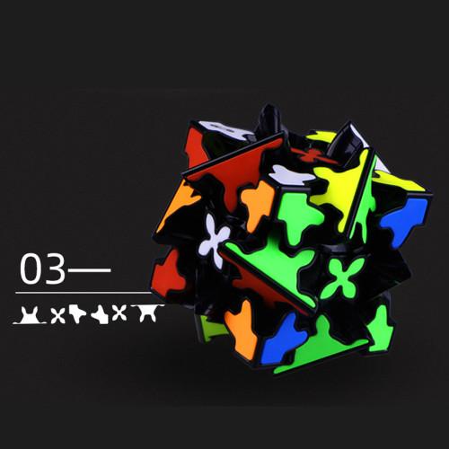 QiYi Mofangge Gear Pyraminxcube Magic Cube - Stickerless