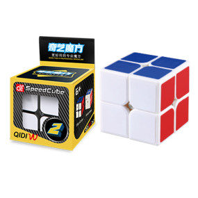 QiYi Mofangge QiDi W 2x2 Magic Cube - Black/White