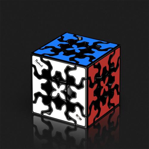 QiYi Mofangge Gear 3x3 Magic Cube - Stickerless