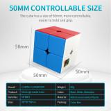 MFJS Meilong 2 Custom 2x2 Magic Cube - Stickerless