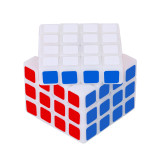 FangShi 3D Printed 4x4 Magic Cube - White (Ductile Resin)