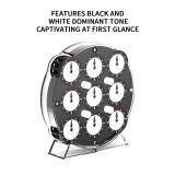 QiYi MoFangGe Magnetic Clock - Black White