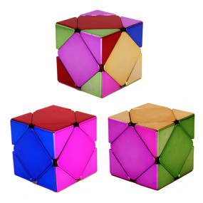 MoYu MFJS Plated Skewbcube Magic Cube - Colorful