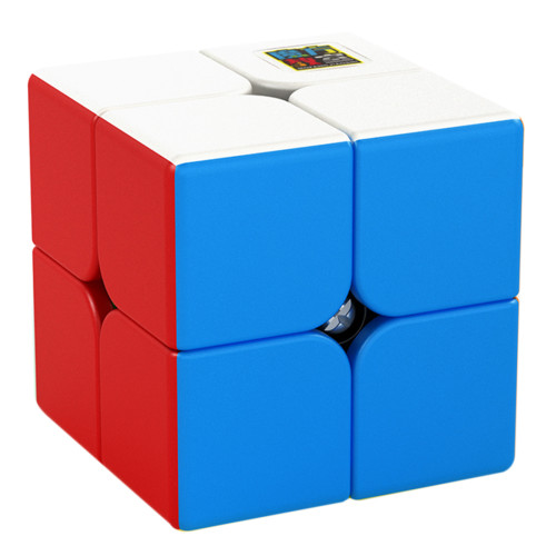 MFJS Meilong 2 Custom 2x2 Magic Cube - Stickerless