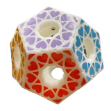 FangShi 3D Printed Dodecahedron Magic Cube - White