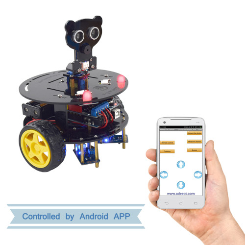 3WD Bluetooth Smart Robot Car for Arduino UNO R3