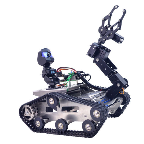 TH WiFi Tank Robotics Arm Car for Raspberry Pi4 (2G)