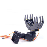 4 DOF Metal Robot Arm Large Claw with Steering Gear