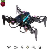 DarkPaw Bionic Quadruped Spider Robot Kit for Raspberry Pi 3 Model B+/B