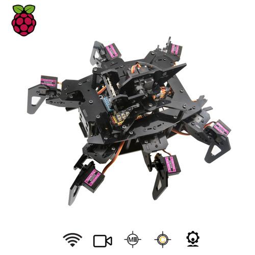 Rasp Claws Hexapod Spider Robot Kit for Raspberry Pi 3 Model B+/B