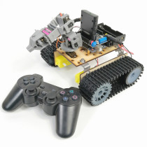 PS2 RC Robot Chassis 4DOF Crawler Probe Car with Arduino