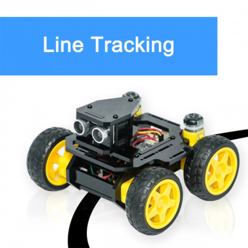 AWR-A 4WD Smart WiFi Robot Car for UNO R3